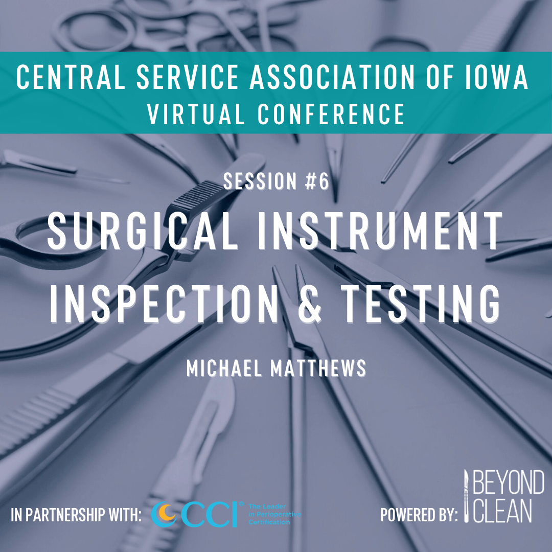 Surgical Instrument Inspection